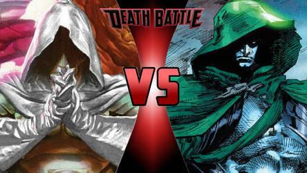 God Emperor Doom vs. The Spectre by OmnicidalClown1992