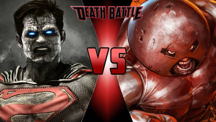 Bizarro vs. Juggernaut by OmnicidalClown1992