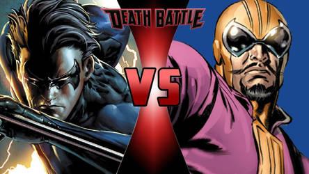 Nightwing vs. Batroc the Leaper by OmnicidalClown1992