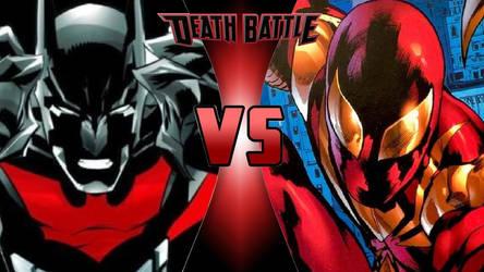 Batman Beyond vs. Iron Spider by OmnicidalClown1992