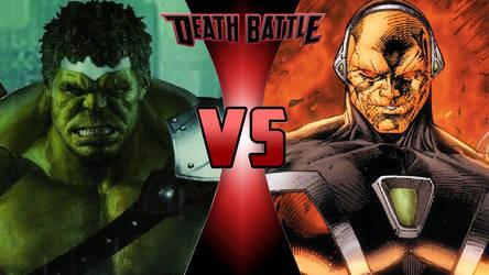 World War Hulk vs. Mongul by OmnicidalClown1992
