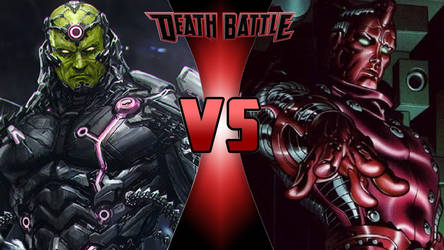 Brainiac vs. High Evolutionary by OmnicidalClown1992
