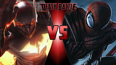 Red Death vs. Superior Spider-Man by OmnicidalClown1992
