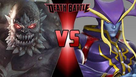 Doomsday vs. Jedah Dohma by OmnicidalClown1992