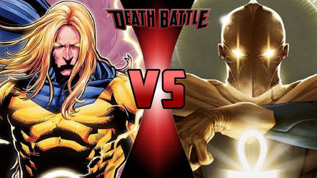Sentry vs. Dr. Fate by OmnicidalClown1992