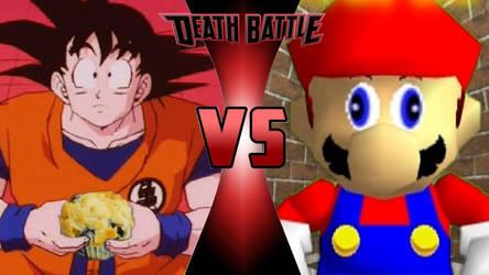 TFS Goku vs. SMG4 Mario by OmnicidalClown1992