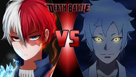 Shoto Todoroki vs. Mitsuki by OmnicidalClown1992
