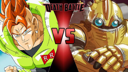 Android 16 vs. Robo by OmnicidalClown1992