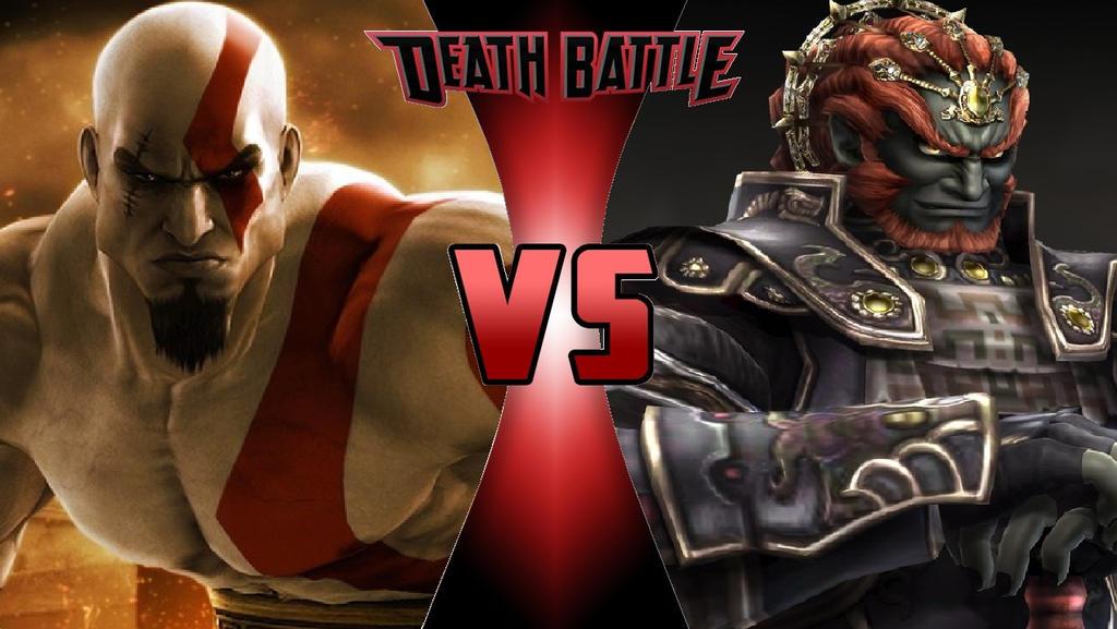 Kratos vs. Ganondorf by OmnicidalClown1992
