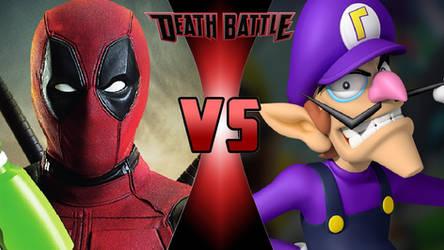 Deadpool vs. Waluigi by OmnicidalClown1992
