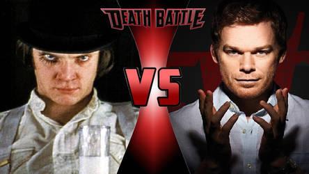 Alex DeLarge vs. Dexter Morgan by OmnicidalClown1992