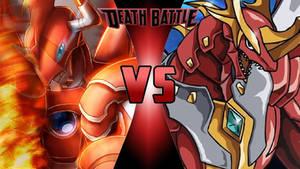 ShineGreymon vs. Drago