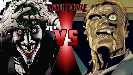 Joker vs. Jigsaw by OmnicidalClown1992