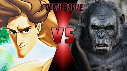 Tarzan vs. Koba by OmnicidalClown1992