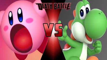 Kirby vs. Yoshi by OmnicidalClown1992