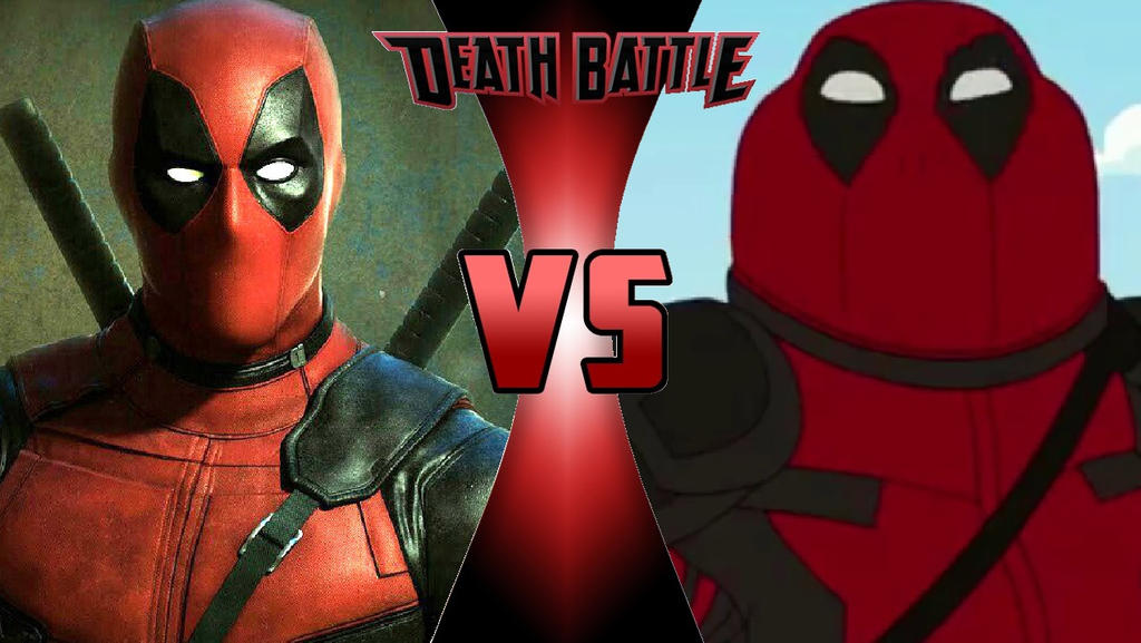 Deadpool vs. Peter Griffin by OmnicidalClown1992