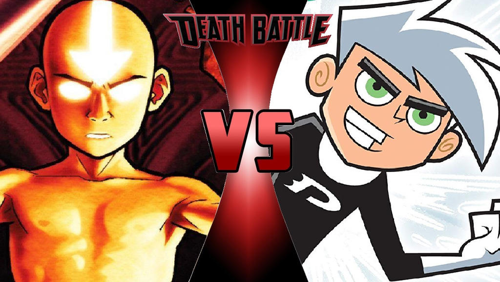 Aang vs. Danny Phantom by OmnicidalClown1992