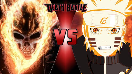 Ghost Rider vs. Naruto Uzumaki