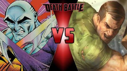 Metamorpho vs. Sandman