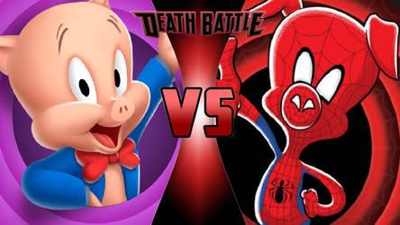 Porky Pig vs. Spider-Ham