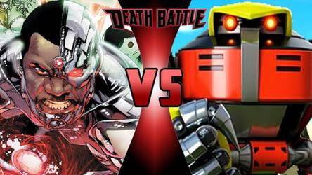 Cyborg vs. E-123 Omega