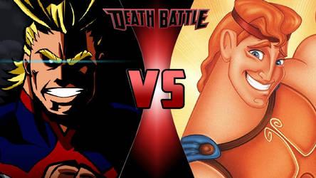 All Might vs. Hercules