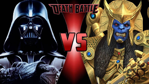Darth Vader vs. Goldar