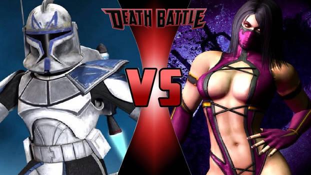 Captain Rex vs. Mileena