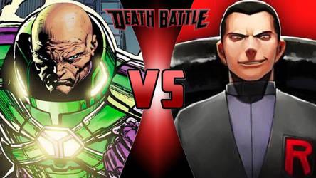 Lex Luthor vs. Giovanni