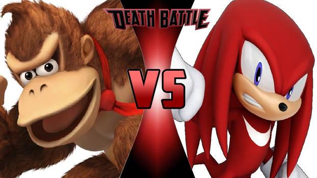 Donkey Kong vs. Knuckles the Echidna