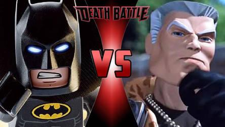 Lego Batman vs. Major Chip Hazard