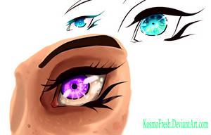 Eye Scraps Practice