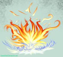 Fire deviantart tutorial badge thingy