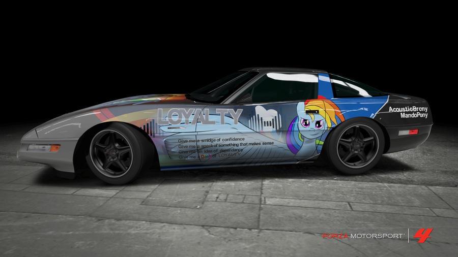 Loyalty Corvette - Side by Kingmush360