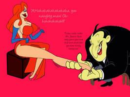Jessica Rabbit: A Ticklish Deal with Gildersneeze by Quillpen39