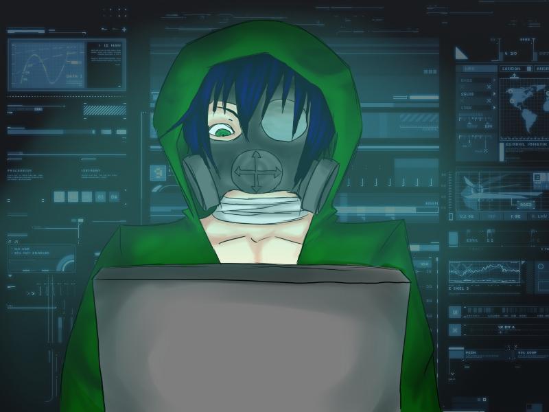Hacker by Shinachi