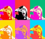 Hayley Williams pop art