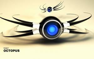 Robot Octopus c4d by b4ddy