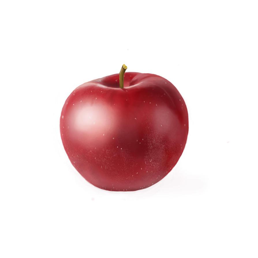 Digital apple by fontez