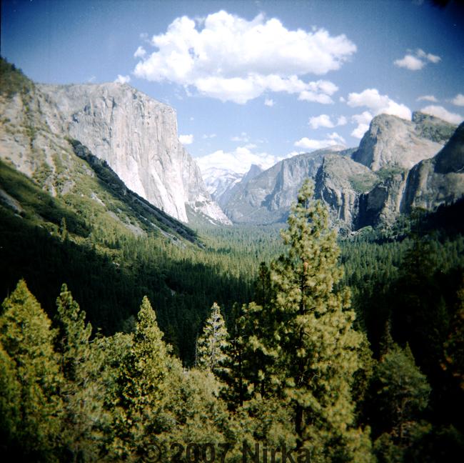 Yosemite by Holga by Nirka