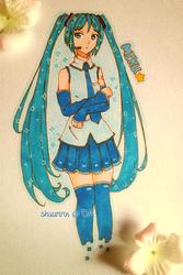 [Fanart] Synthetic voice (Hatsune Miku) by shuuririn
