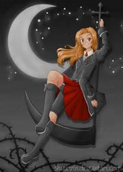 [OC] .: Exorcist girl (Lucie) :. by shuuririn