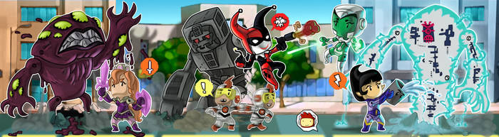 Animated Super Heroes