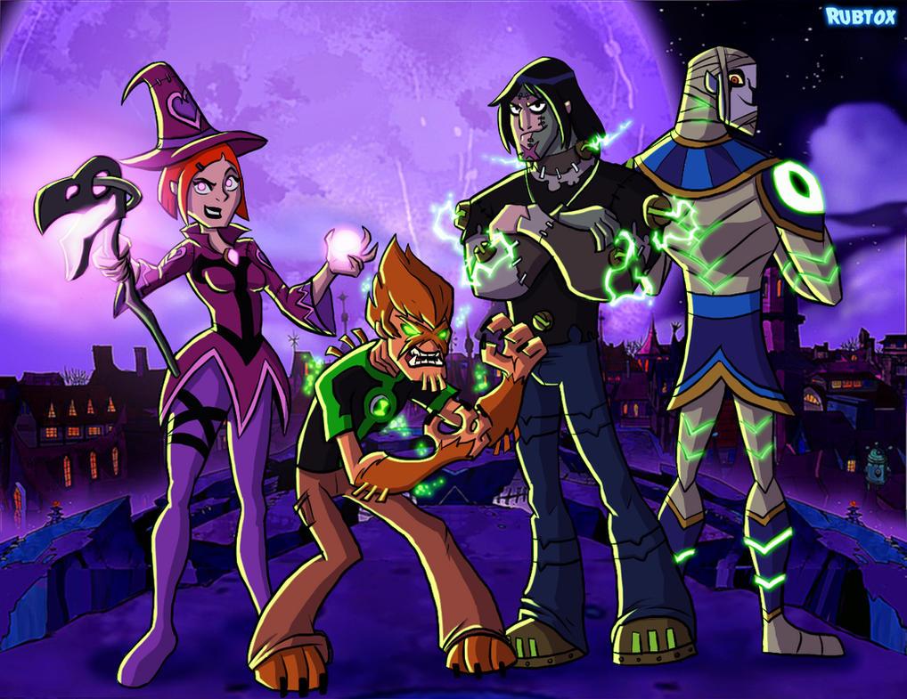 B10 Halloween by rubtox