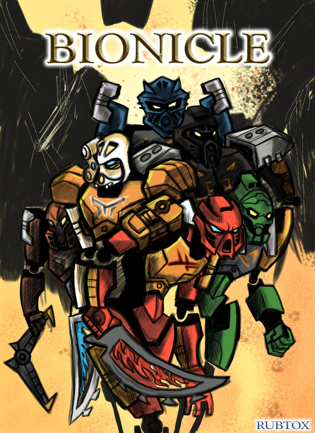 Bionicle 2015: The Coming of the Toa 2