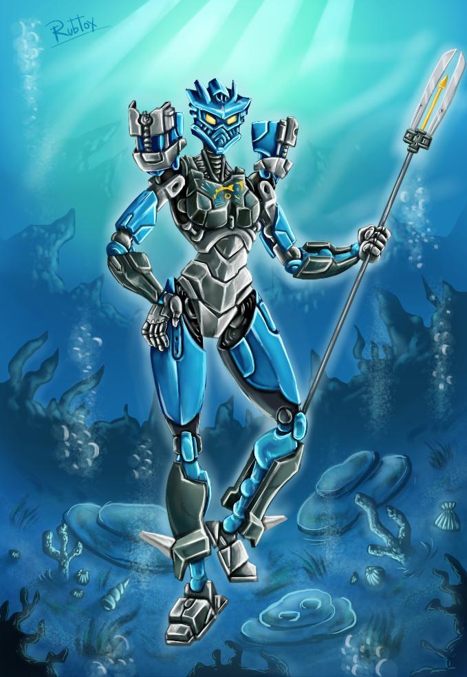 Gali under the Sea by rubtox
