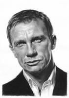 Daniel Craig by Tarsanjp