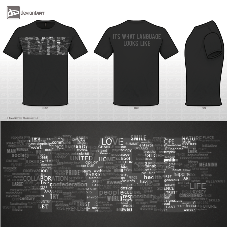 Type Shirt by FRSHSnip3r
