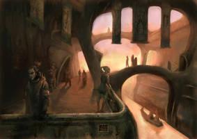 Vivek City Of Elves. Morrowind. by Sasha3