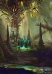 Elven Ritual.Taurtiris by Sasha3
